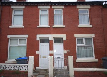 Thumbnail 3 bed terraced house to rent in Cunliffe Road, Blackpool