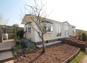 Thumbnail 2 bedroom mobile/park home for sale in Charlcombe Park, Portishead, North Somerset