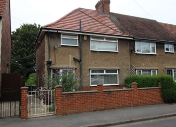 Thumbnail 3 bed semi-detached house to rent in Manor Road, Brampton, Chesterfield