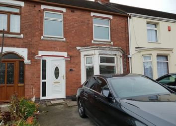 Thumbnail 3 bed terraced house to rent in Curzon Avenue, Coventry