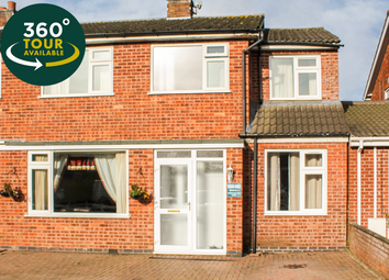 Thumbnail 5 bed semi-detached house for sale in Kensington Close, Oadby, Leicester