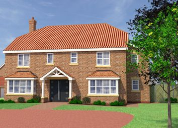 Thumbnail 5 bed detached house for sale in Plot 10, The Manor House, Church View, Ulceby, North Lincolnshire
