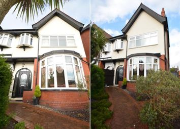 Thumbnail 4 bed semi-detached house for sale in Whitegate Drive, Stanley Park, Blackpool