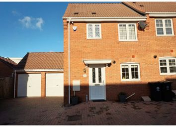 Thumbnail 3 bed semi-detached house for sale in Belfry Mews, Rushden