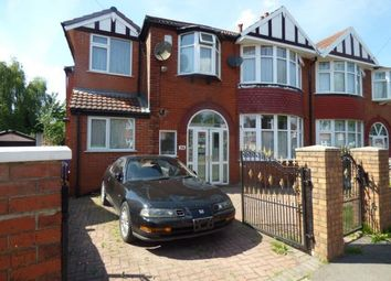 Thumbnail 6 bed semi-detached house for sale in Northleigh Road, Manchester, Greater Manchester