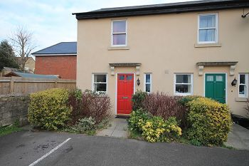 Thumbnail End terrace house to rent in Black Swan Court, Trowbridge