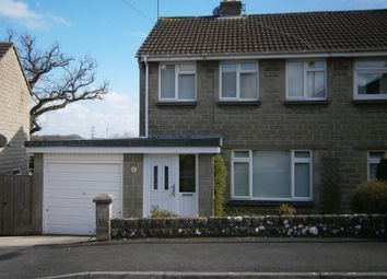 Thumbnail 3 bed semi-detached house to rent in Martins Close, Chippenham