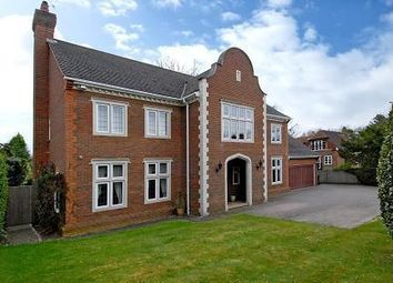 Thumbnail 5 bed detached house to rent in Cross Road, Sunningdale