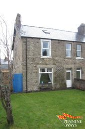 Thumbnail End terrace house for sale in Crossfield Terrace, Haltwhistle, Northumberland