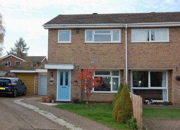 Thumbnail 3 bed semi-detached house for sale in Poplar Court, Boothville, Northampton
