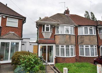 Thumbnail 3 bed semi-detached house for sale in Kingshurst Road, Northfield, Birmingham