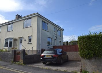 Thumbnail 4 bed semi-detached house for sale in Treverbyn Road, St. Ives