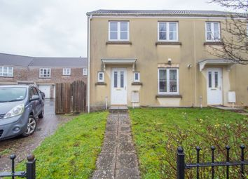 Thumbnail 3 bed end terrace house for sale in Barlow Gardens, Plymouth