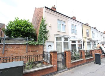 Thumbnail 3 bed terraced house for sale in Western Road, Leicester