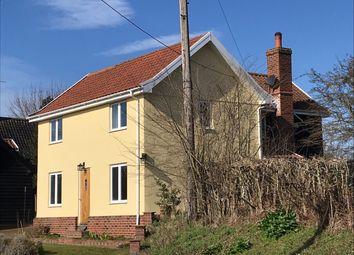 Thumbnail 3 bed detached house for sale in Blacksmiths Cottage, Halesworth Road, Halesworth, Suffolk