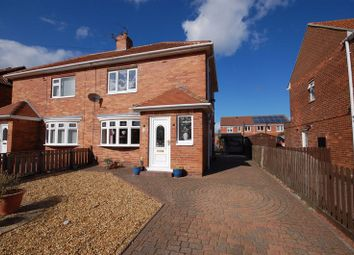 Thumbnail 2 bed semi-detached house for sale in Cresswell Avenue, Forest Hall, Newcastle Upon Tyne
