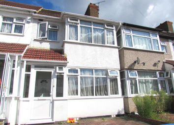 Thumbnail 3 bed terraced house to rent in Woodside Close, Wembley, Middlesex
