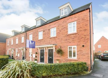 Thumbnail 3 bed end terrace house to rent in Waterlily Grove, Stapeley, Nantwich