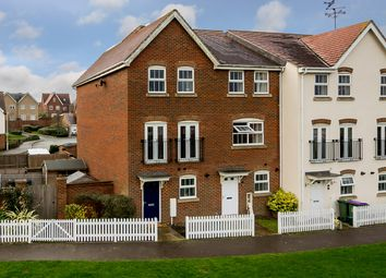Thumbnail 3 bed end terrace house for sale in Page Road, Hawkinge, Folkestone