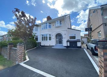 Thumbnail 4 bed semi-detached house for sale in Withert Avenue, Bebington, Wirral