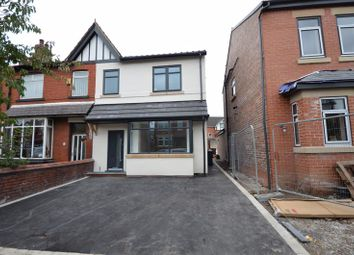 Thumbnail 4 bed semi-detached house for sale in Kenyon Road, Wigan