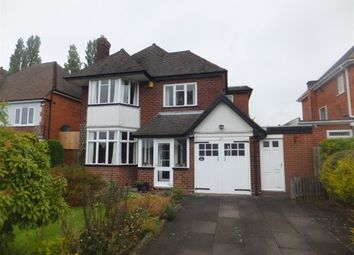 Thumbnail 4 bed detached house for sale in Barnard Road, Sutton Coldfield