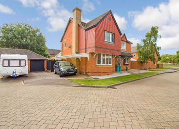 Thumbnail 4 bed detached house for sale in Middlefield, Hampton Hargate, Peterborough
