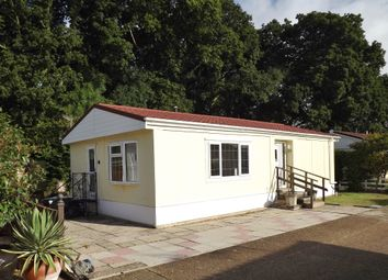 Thumbnail 2 bed mobile/park home for sale in Church Farm Close, Dibden. Nr Hythe