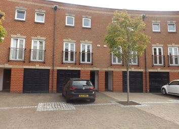 Thumbnail 4 bed terraced house to rent in Minerva Crescent, Gunwharf Quays, Portsmouth