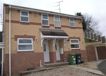 Thumbnail 2 bed town house to rent in Brockhall Rise, Heanor