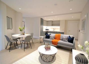 Thumbnail 2 bed flat to rent in Greenwich Peninsula, Upper Riverside, London