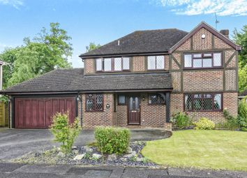 Thumbnail 4 bed property for sale in Ling Drive, Lightwater, Surrey