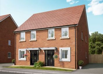 Thumbnail 2 bed semi-detached house for sale in Lakeside Bvld, Cannock