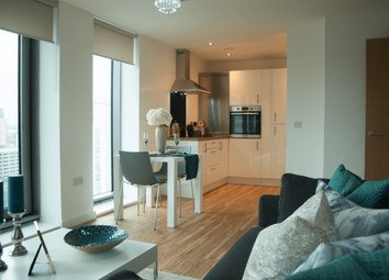 Thumbnail 1 bed flat to rent in Michigan Avenue, Salford Quays