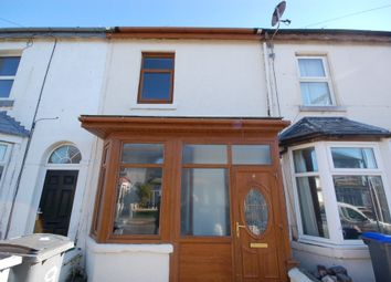 Thumbnail 2 bed terraced house to rent in Wall Street, Blackpool, Lancashire
