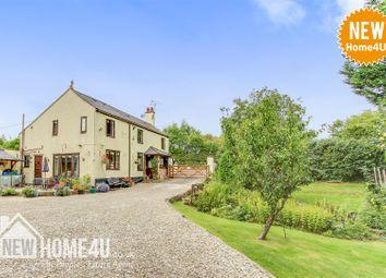 Thumbnail 4 bed detached house for sale in Ffordd Corwen, Treuddyn, Mold