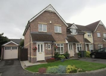 Thumbnail 3 bed end terrace house for sale in Yarrow Close, Cardiff
