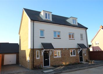 Thumbnail 3 bedroom terraced house for sale in Sapphire Gardens, Mildenhall, Bury St Edmunds