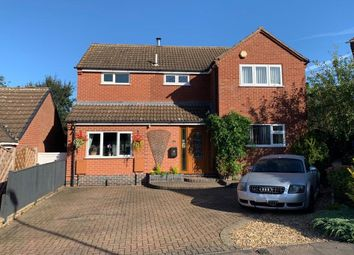Thumbnail 3 bed detached house for sale in Dovedale Close, Melton Mowbray