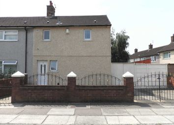 Thumbnail 2 bed end terrace house for sale in Crosland Road, Kirkby, Liverpool
