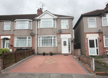 Thumbnail 3 bedroom end terrace house for sale in Roland Avenue, Holbrooks, Coventry