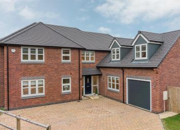 Thumbnail 5 bed detached house for sale in Nailstone Road, Carlton, Nuneaton