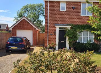 Thumbnail 3 bed semi-detached house for sale in Tench Close, Mulbarton, Norwich