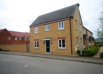 Thumbnail 3 bed semi-detached house for sale in Shannon Close, Spalding