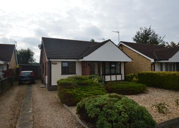 Thumbnail 2 bed detached bungalow to rent in Blyton Grove, Lincoln