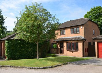 Thumbnail 4 bed detached house for sale in Coleford Paddocks, Mytchett, Surrey