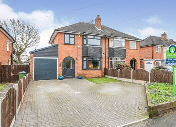 Thumbnail 3 bed semi-detached house for sale in Avondale Road, Wellington, Telford