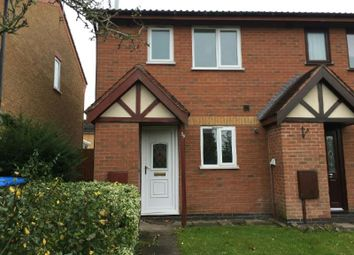 Thumbnail 2 bedroom town house to rent in Talbott Close, Broughton Astley, Leicester