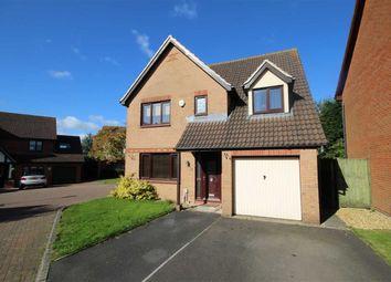 Thumbnail 4 bedroom detached house for sale in Nolan Close, St Andrews Ridge, Swindon