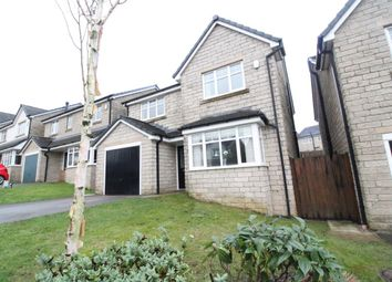 Thumbnail 4 bed detached house for sale in Siskin Avenue, Bacup